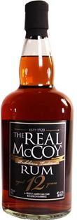 The Real Mccoy Rum 12 Year 750ml